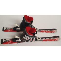 ski gebruikt 1set
